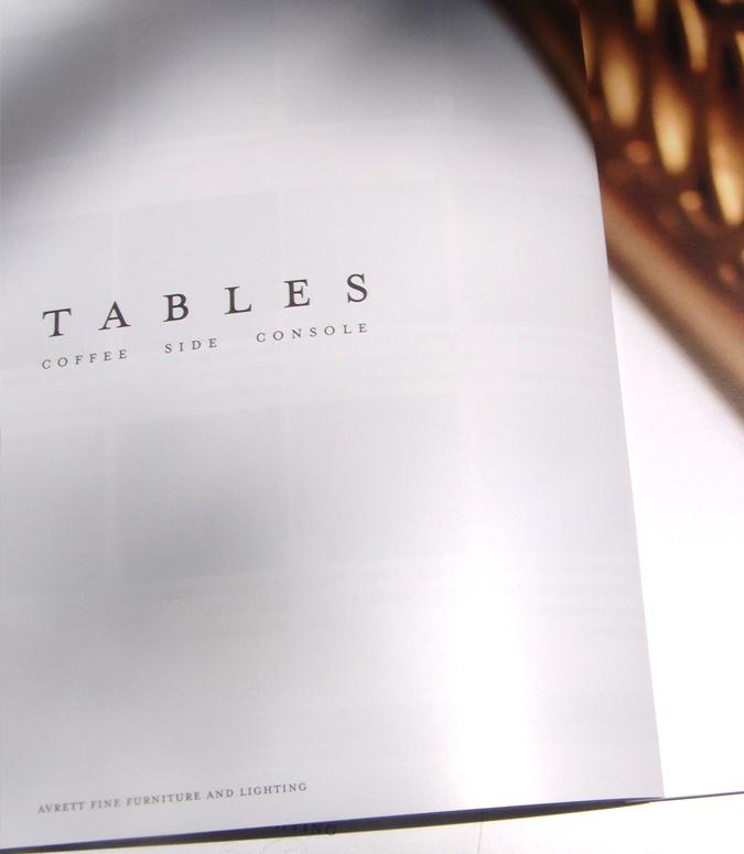 Avrett Catalog Design by White Dog Design