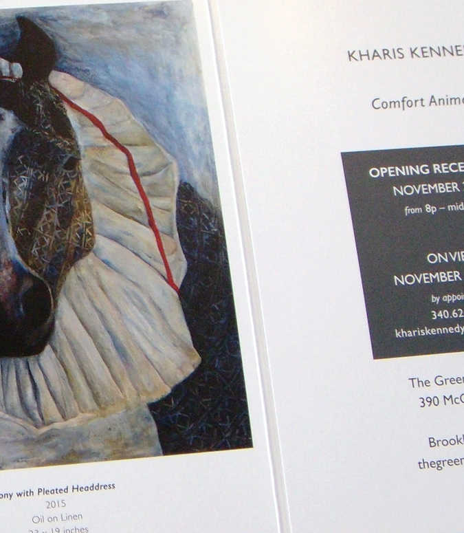 Custom Folded Self Mailer Design, Kharis Kennedy